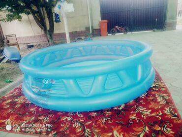 Спорт и хобби - Селекционное: Продаю новый бассейн использовались 1 раз, трещины нет, причина