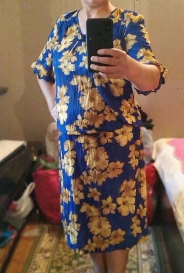 Платье женское б/у хорошее состояние.48-50 размер.350 сом в Лебединовка
