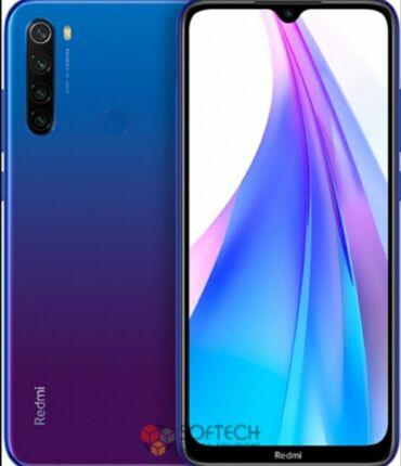 Мобильные телефоны и аксессуары - Кыргызстан: Б/у Xiaomi Redmi Note 8 32 ГБ Синий