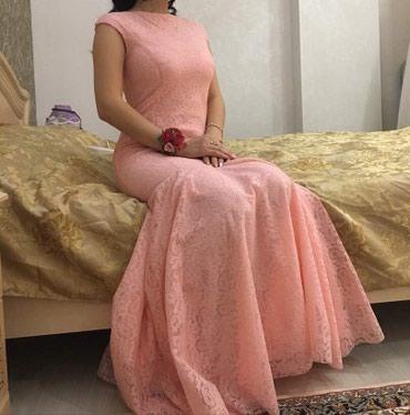 Платье вечернее шикарное,нежно розового цвета.НА ВЫПУСКНОЙ и на вечер в Бишкек