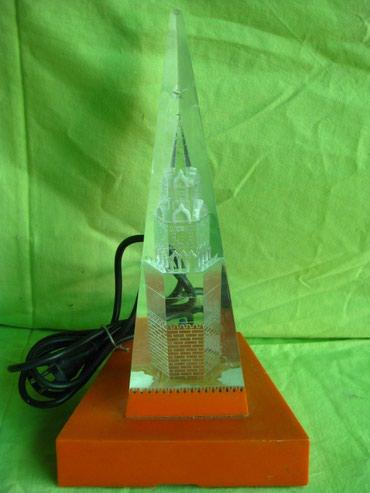 Другие предметы коллекционирования в Кыргызстан: Светильник - Сувенир ночник Кремль из СССРВысота - 32