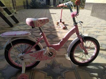 Продаю детский велосипед состояние нового цена 3000торг уместен