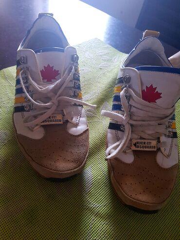 Original rb e - Srbija: Dsquared original cipele 44 br ostecenje vidljivo na slici placene 200