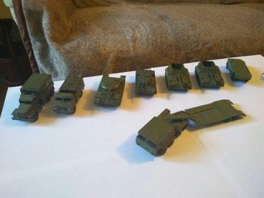 Военные модельки СССР, Маленькая пушка и бтр на запчасти в Бишкек