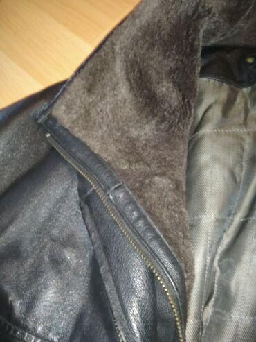 Muska kozna jakna, obucena jedanput u odlicnom stanju.Mere saljem na