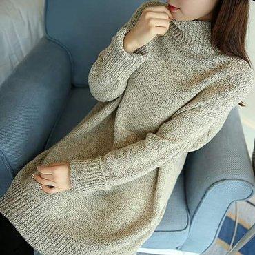 В продаже имеется :  Теплый, удлиненный свитер.  Производство в Бишкек