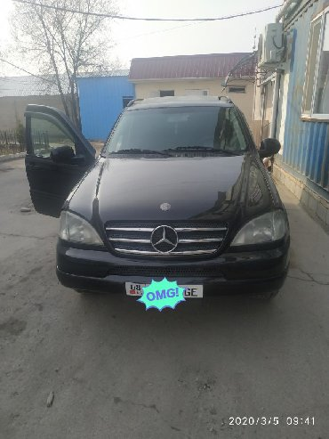 Mercedes-Benz в Кыргызстан: Mercedes-Benz ML 320 3.2 л. 2000 | 254960 км