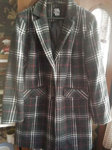 Пальто Дебенхамс (Англия),16 проц шерсть,почти новое, размер uk20,На