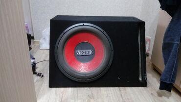 """динамики в Кыргызстан: Продаю сабвуфер VISONIK 15"""" 1000Wразмер 15 дюймов38"""