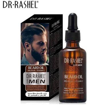 DR. RASHEL. 50ML.Beard Oil saqal serumu tam originalSaqqal Böyüməsi