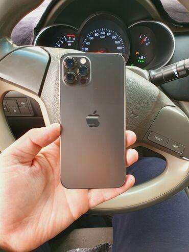 айфон 12 цена ош in Кыргызстан | ЗАРЯДНЫЕ УСТРОЙСТВА: IPhone 12 Pro | 256 ГБ | Серый (Space Gray) Б/У | Гарантия, Беспроводная зарядка, Face ID