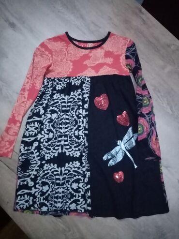 Dečija odeća i obuća - Nova Pazova: Desigual haljina vel 7/8 u odličnom stanju bez ikakvih tragova nošenja