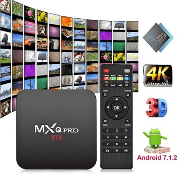 Bakı şəhərində Yenidi neqeder desez var MXQ PRO Android 7,1 ТВ Box Amlogic S905W 4