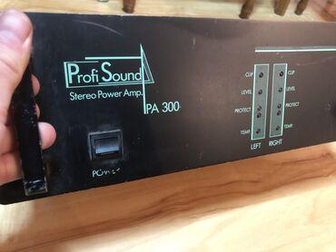 Pojacalo - Srbija: Na prodaju pojacalo Profi Sound Stereo Power Amp PA300Korisceno par
