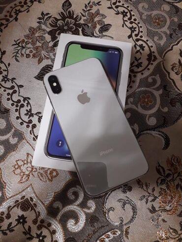 iphone qablari - Azərbaycan: İşlənmiş iPhone X 64 GB Ağ