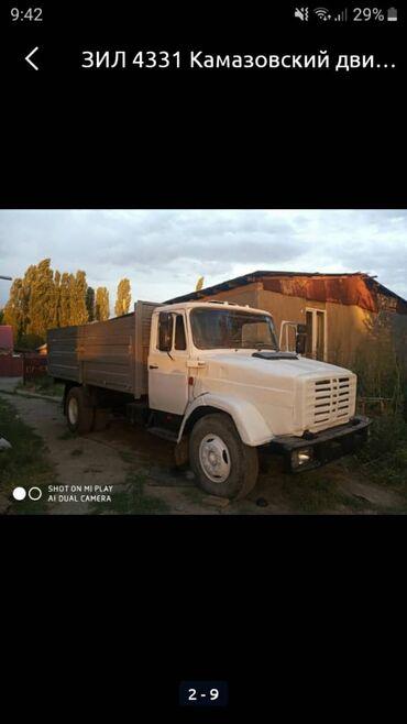 ЗИЛ -4131, бортовой, двигатель от КамАЗ, задние колеса без камерка,