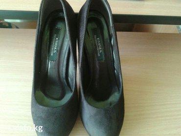 Замшевые туфли корочневого цвета, в в Кант