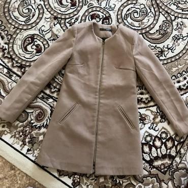 tufli s kamushkami в Кыргызстан: Классическое пальто в бежевем цвете осень!  Размер S