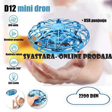 D12 MINI DRONOvaj D12 mini dron savršen je za porodičnu zabavu ili