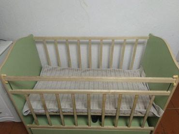 Детская кроватка маятник.хорошем состоянии в Бишкек