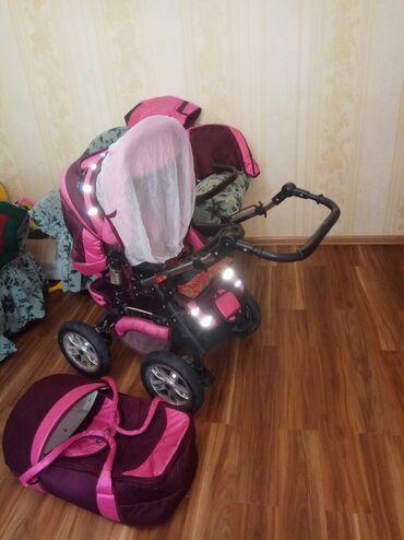 """детские палатки цена в Кыргызстан: Продается детская коляска фирмы """"VIPER"""", б/у, в хорошем состоянии"""