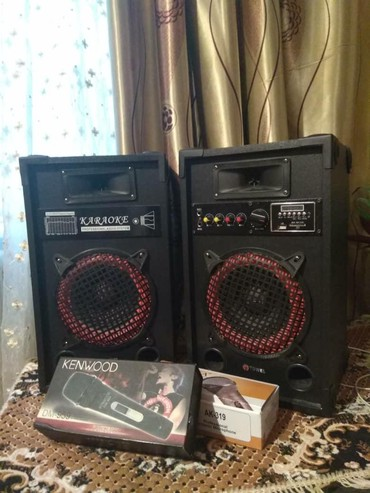 музыкальный центр goldstar в Кыргызстан: Сдаю в аренду- прокат колонки + микрофон аренда-прокат колонки для ка