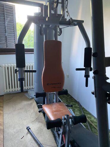 Gladijator - Srbija: Prodajem gladijator spravu (120 kg tegovi) na kojoj treba zameniti