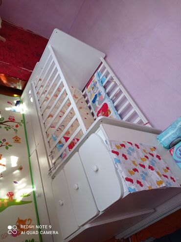 Детский мир - Орловка: Кровать трансформер 3в1 продам или поменяю на 2х ярусную