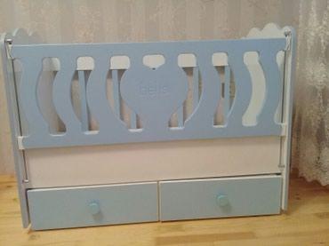 Детская кровать . качается в Qusar