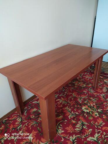 Очень крепкий и прочный стол для кухни или можно для учебы ребенка