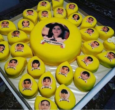 Bakı şəhərində Tort . mekteb ucun tortlar buyurun
