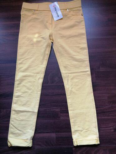 Nove ženske letnje pantalone, veličina 38. Pantalone su sa elastinom i
