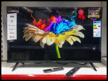 """hd-mpeg4-dvb-t2 в Кыргызстан: TCL 32"""" Smart TV Android 8.0 Красивый дизайн, отличное изображение с п"""