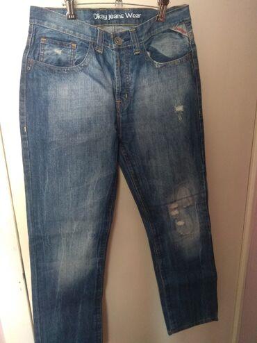 Джинсы - Б/у - Бишкек: Продам мужские джинсы в отличном состоянии 50 р