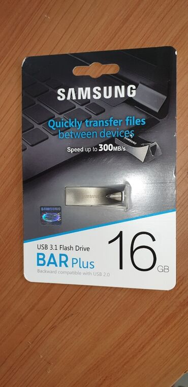 Карты памяти в Кыргызстан: USB флешки Samsung 16 GB