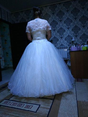 Продам свадебное платье! одето 1 раз! в Novopokrovka