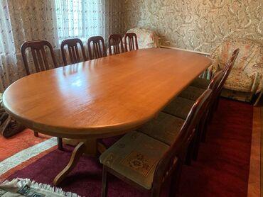 Продаю стол стул длина 3м ширина 1м 20см высота 75 см в отличном