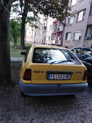 Opel kadet - Srbija: Opel Kadett 1.3 l. 1988 | 320000 km
