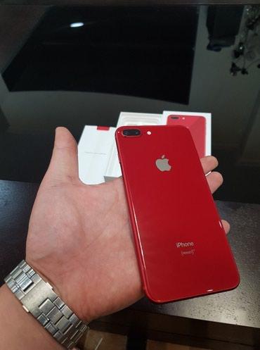 Bakı şəhərində Apple iPhone 8 Plus (PRODUCT)RED -256GB - (EE) A1897 (GSM)