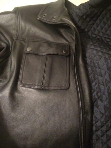 Продаю мужскую чисто кожаную куртку ручной работы. прошу 7000 сом в Бишкек