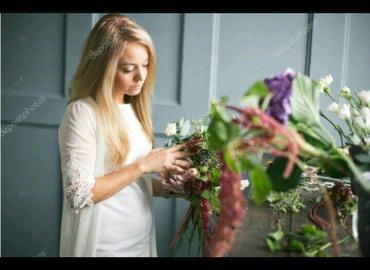В цветочный магазин нужен флорист в Бишкек