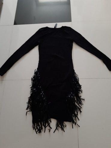 Haljina sa resama sve velicine dostupne boja teget novo EVAROZA - Backa Palanka