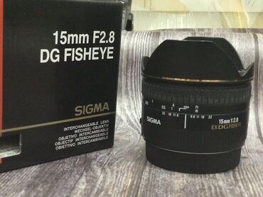 липотрим как отличить подделку в Кыргызстан: Объектив Sigma 15 mm/F2.8 EX DG fisheye, б/у в отличном состоянии