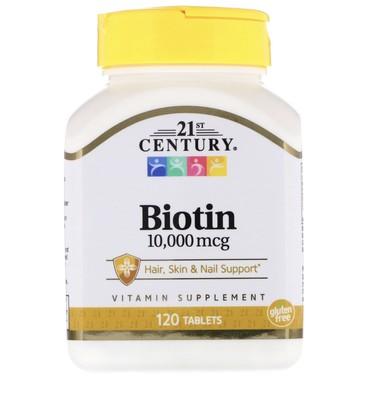 витамины весной в Кыргызстан: Биотин, для активного роста волос. Останавливает сильное выпадение