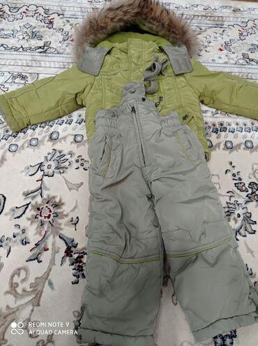 prodam dzhinsy b u в Кыргызстан: Детский комбез зимний можно и на мальчика и на девочку 2-3года
