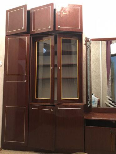 Продается шкаф +зеркало ( трельяж) 6000 сом Тел . в Бишкек