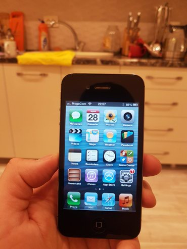 Продаю iPhone 4S 32 GB с iOS 6.1.3! В отличном в Бишкек