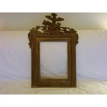 Γύψινη παλιά κορνίζα καθρέφτη - 68 x 46 εκατ.Λόγω πτώσης λείπουν