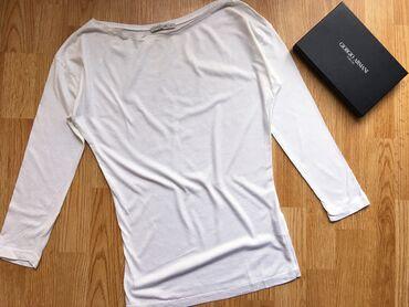 Personalni proizvodi | Bor: Calliope bela strukirana nova majica, s/36