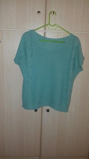 Πλεκτή μπλούζα, One Size, χρώμα : βεραμάν, αφόρετη  (κωδ. 121) σε Kamatero